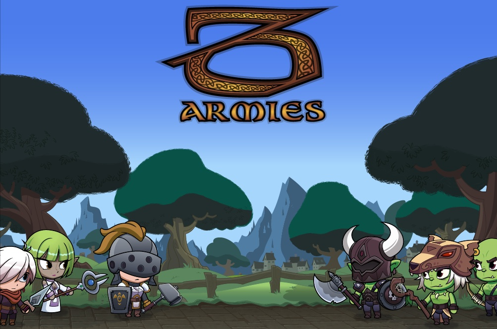 3 Armies game for iPhone and iPad